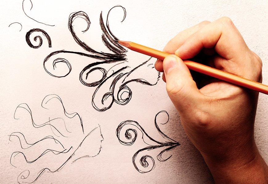 conceito de logotipo para Absalão - Salão de Beleza em João Pessoa, PA