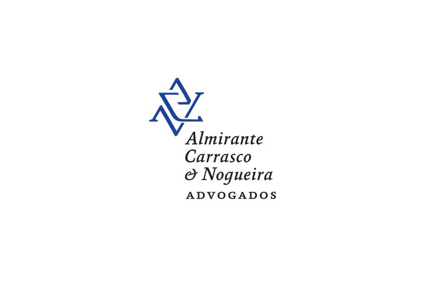 Criação de Logotipo e identidade visual para escritório de advocacia Almirante Carrasco Advogados de São Paulo