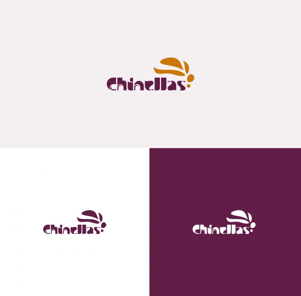 logotipo chinelas versão positiva e negativa