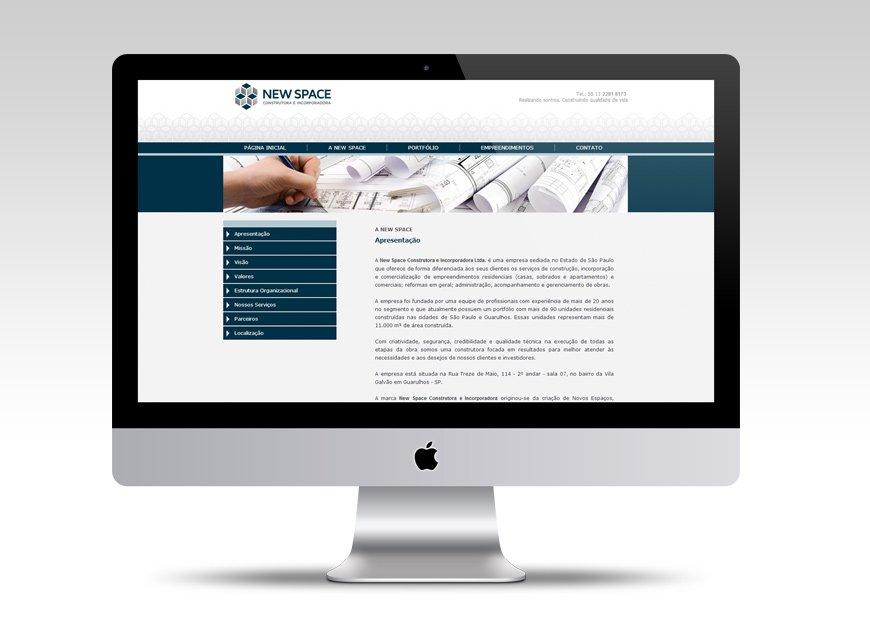 criação de site para construtora e incorporadora