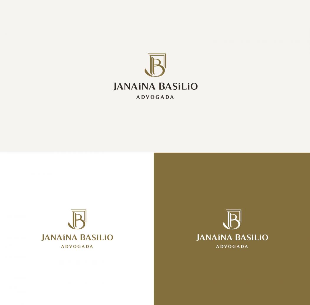 logotipo advogada janaína basilio em são paulo