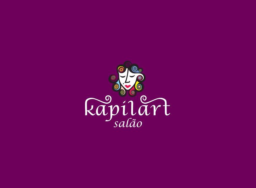 logotipo kapilart cabeleireiros versão secundária