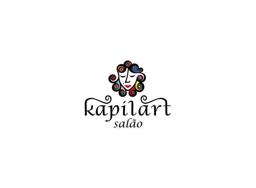 logotipo kapilart cabeleireiros versão principal