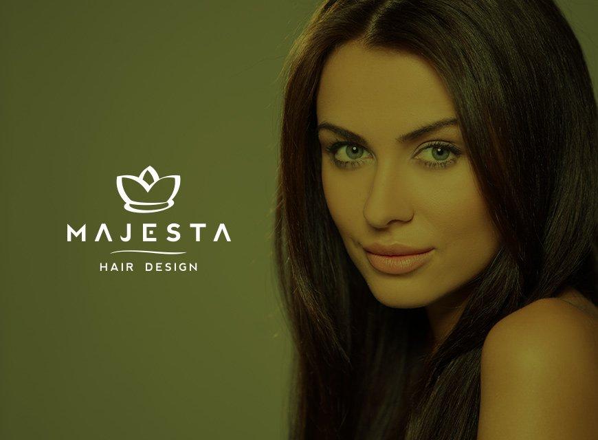 logotipo cabeleireiro hair design imagem conceitual