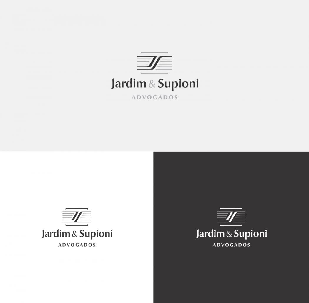 logotipo advogado versões positiva e negativa