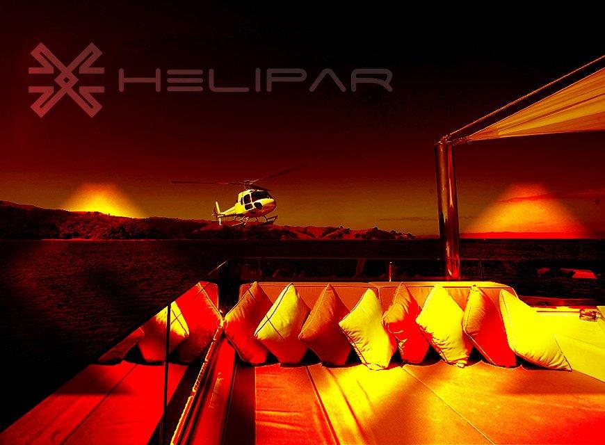 imagem conceitual da marca helipar, empresa de gestão de aeronaves e helicópteros em são paulo