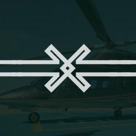 criação de logotipo e identidade visual helipar gestão de aeronaves e helicópteros