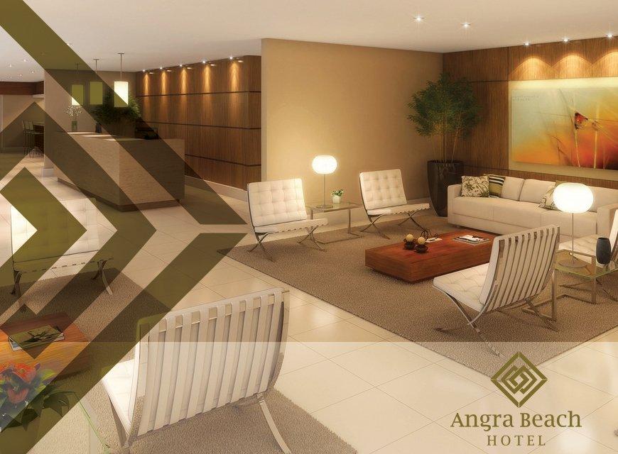 Criação de Identidade Visual para Hotéis e Resorts, imagem conceitual da marca Angra Beach Hotel no Rio de Janeiro