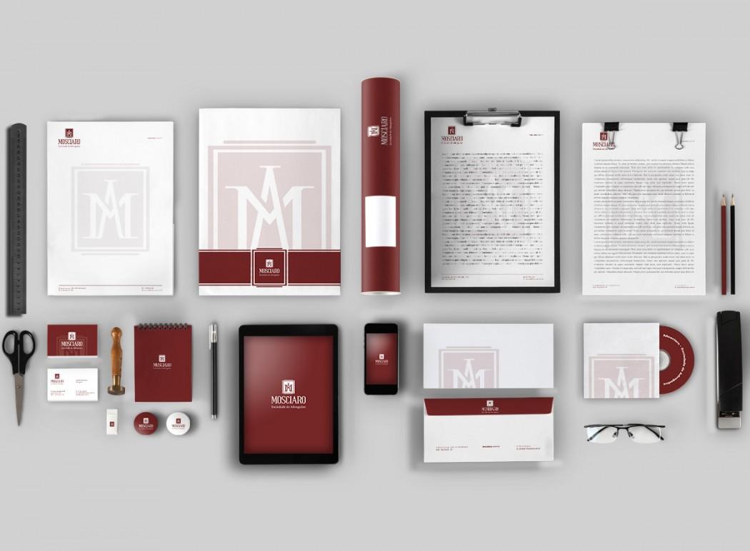 papelaria e identidade visual para advogados