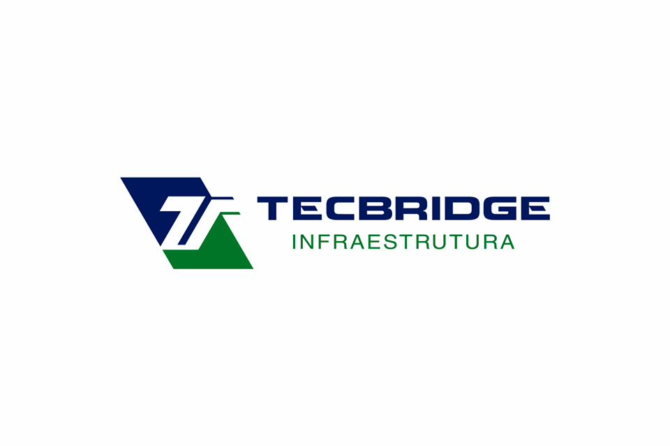 logotipo empresa de infra-estrutura tecbridge
