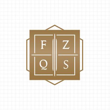 Detalhe do símbolo, FZQS Advogados, criação de logotipo e identidade visual para advogados