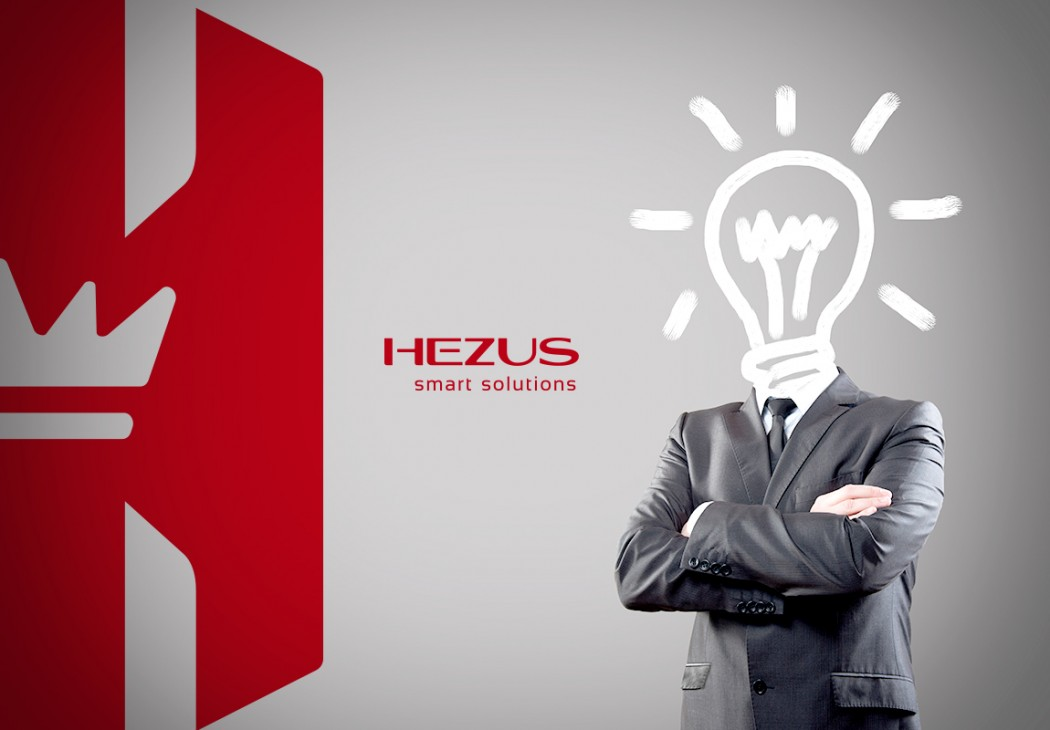 imagem conceitual da marca hezus smart solution
