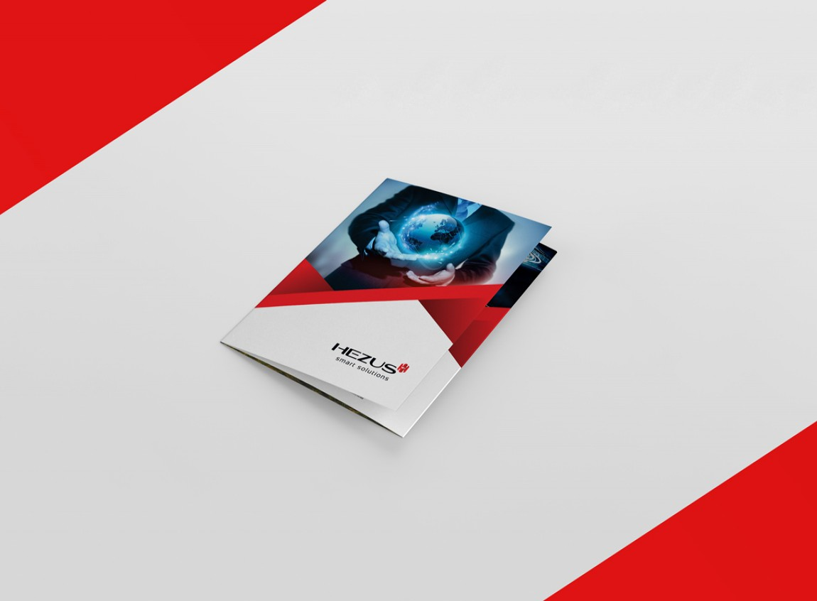 capa folder para hezus smart solutions