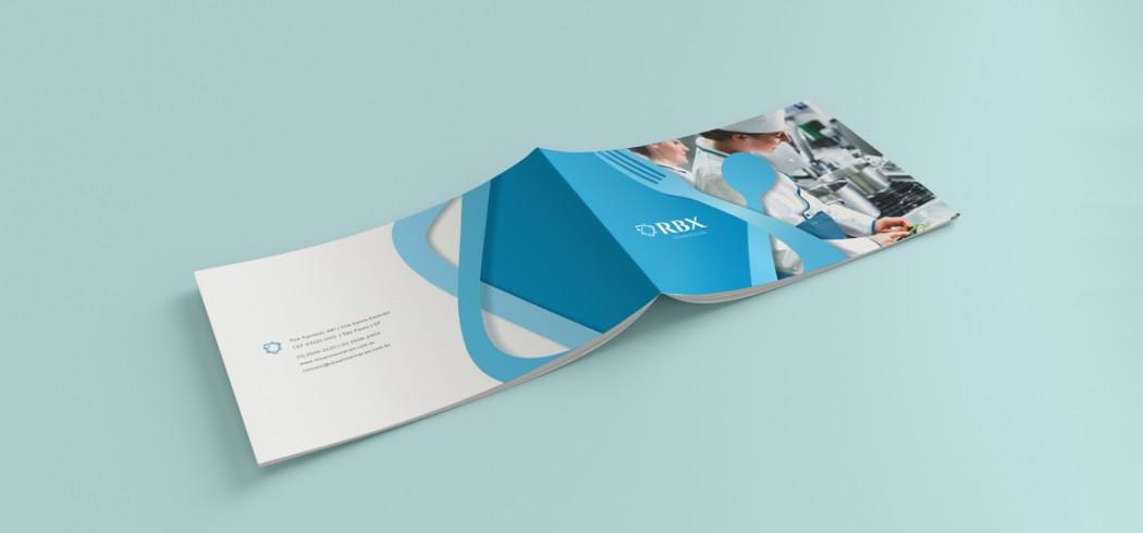 capa catálogo de apresentação RBX alimentação